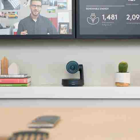 Logitech solutions empower workplace collaboration.