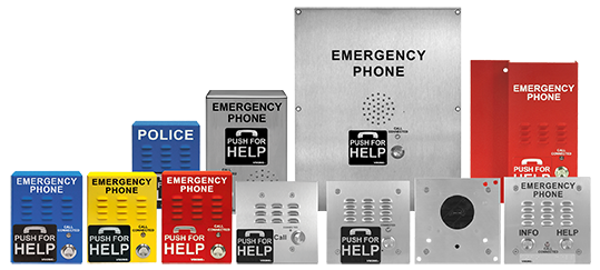 VoIP and Analog Emergency Phones