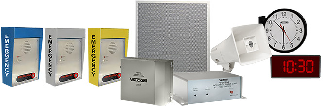 Valcom Solutions include: