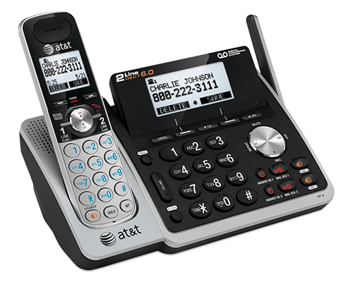 DECT 6.0 Corded & Cordless Telephones