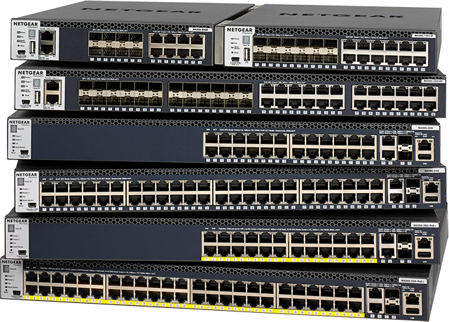 Fully Managed Switches for IT and AV over IP